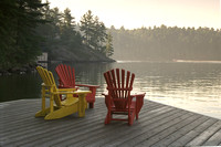 """ Morning Mist"" (Milford Bay - Lake Muskoka)"