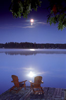 """Moonlight Serenade"" (Whiting Beach - Lake Muskoka)"